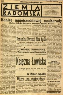 Ziemia Radomska, 1932, R. 5, nr 231