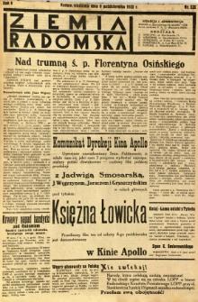 Ziemia Radomska, 1932, R. 5, nr 232