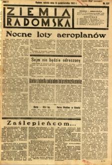 Ziemia Radomska, 1932, R. 5, nr 237