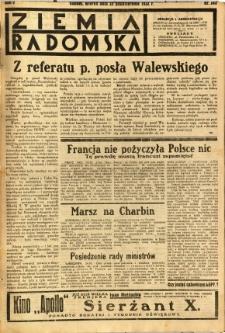 Ziemia Radomska, 1932, R. 5, nr 245