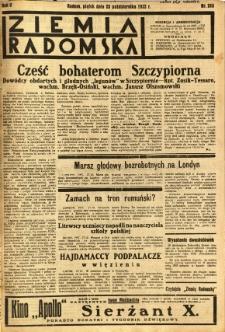 Ziemia Radomska, 1932, R. 5, nr 248