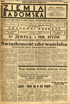 Ziemia Radomska, 1932, R. 5, nr 255