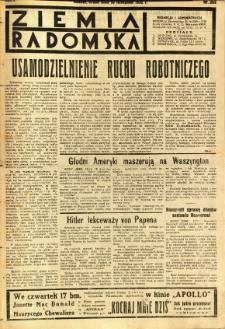 Ziemia Radomska, 1932, R. 5, nr 263