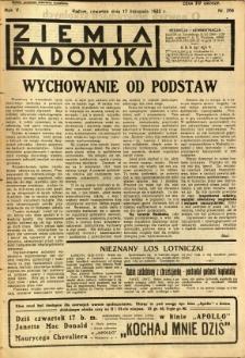 Ziemia Radomska, 1932, R. 5, nr 264