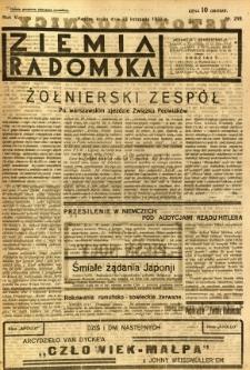 Ziemia Radomska, 1932, R. 5, nr 269