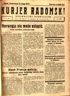 Kurier Radomski, 1940, R. 2, nr 24