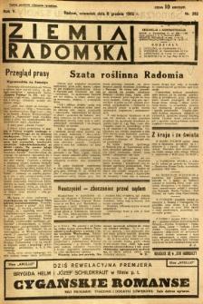 Ziemia Radomska, 1932, R. 5, nr 282