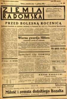 Ziemia Radomska, 1932, R. 5, nr 284