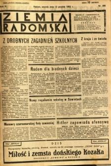 Ziemia Radomska, 1932, R. 5, nr 285