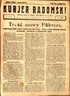 Kurier Radomski, 1940, R. 2, nr 26