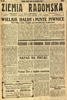 Ziemia Radomska, 1932, R. 5, nr 212
