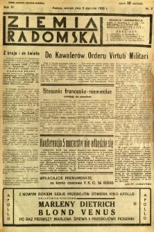 Ziemia Radomska, 1933, R. 6, nr 2