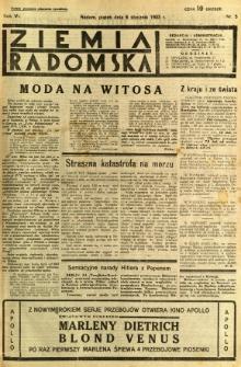 Ziemia Radomska, 1933, R. 6, nr 5