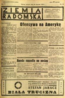 Ziemia Radomska, 1933, R. 6, nr 19