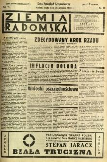 Ziemia Radomska, 1933, R. 6, nr 20