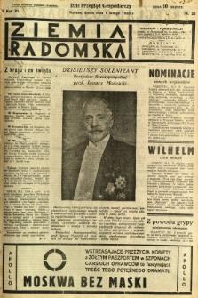 Ziemia Radomska, 1933, R. 6, nr 26