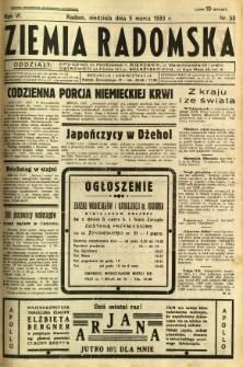 Ziemia Radomska, 1933, R. 6, nr 53