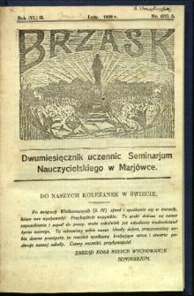 Brzask: Dwumiesięcznik uczennic Seminarium Nauczycielskiego w Mariówce, 1929, R. (6) 2, nr (21) 5