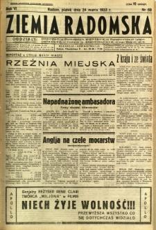 Ziemia Radomska, 1933, R. 6, nr 69