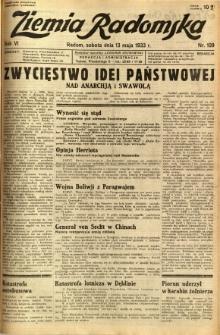 Ziemia Radomska, 1933, R. 6, nr 109