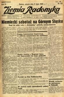 Ziemia Radomska, 1933, R. 6, nr 155