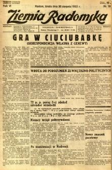 Ziemia Radomska, 1933, R. 6, nr 197