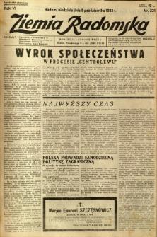 Ziemia Radomska, 1933, R. 6, nr 231