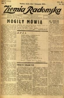 Ziemia Radomska, 1933, R. 6, nr 251