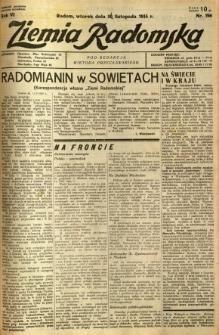 Ziemia Radomska, 1933, R. 6, nr 266