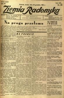 Ziemia Radomska, 1933, R. 6, nr 290