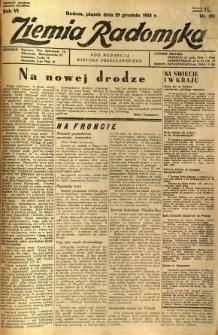 Ziemia Radomska, 1933, R. 6, nr 295