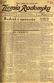 Ziemia Radomska, 1934, R. 7, nr 4