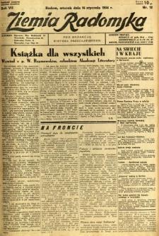 Ziemia Radomska, 1934, R. 7, nr 12