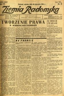 Ziemia Radomska, 1934, R. 7, nr 16