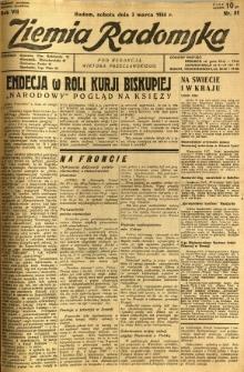 Ziemia Radomska, 1934, R. 7, nr 51