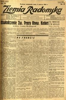 Ziemia Radomska, 1934, R. 7, nr 52
