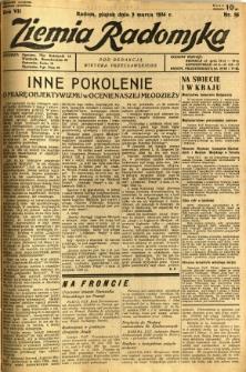Ziemia Radomska, 1934, R. 7, nr 56