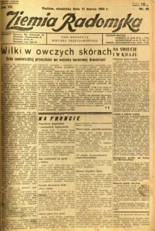 Ziemia Radomska, 1934, R. 7, nr 58