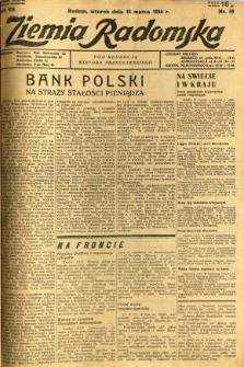 Ziemia Radomska, 1934, R. 7, nr 59