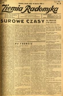 Ziemia Radomska, 1934, R. 7, nr 60
