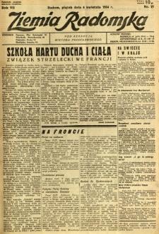 Ziemia Radomska, 1934, R. 7, nr 77
