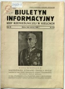 Biuletyn informacyjny Izby Rzemieślniczej w Kielcach