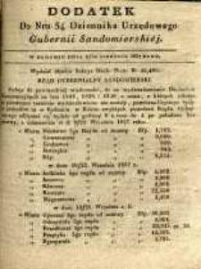 Dziennik Urzędowy Gubernii Sandomierskiej, 1837, nr 34, dod.