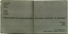 Jubileuszowa XX Ogólnopolska Wystawa Plastyki w Radomiu