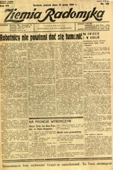Ziemia Radomska, 1934, R. 7, nr 110