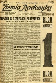 Ziemia Radomska, 1934, R. 7, nr 117
