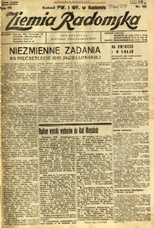 Ziemia Radomska, 1934, R. 7, nr 122
