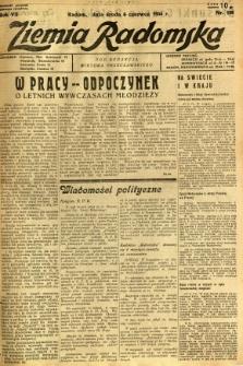 Ziemia Radomska, 1934, R. 7, nr 126