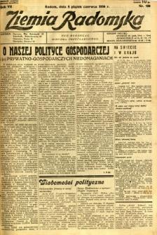 Ziemia Radomska, 1934, R. 7, nr 128