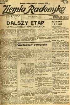 Ziemia Radomska, 1934, R. 7, nr 129
